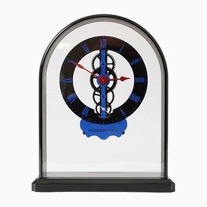 Vintage Skeleton Clock from Krones, 1980s