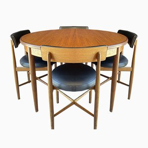 Fresco Dining Table & Chairs Set by V B Wilkins for G-Plan