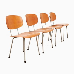 Model 116 Chairs by Wim Rietveld for Gispen, 1953, Set of 4