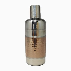 Stainless Steel Cocktail Shaker, Italy, 1960s