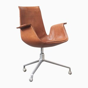 Tulip Office Chair by Preben Fabricius & Jørgen Kastholm for Alfred Kill International, 1960s