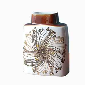 Vintage BACA Faience Vase by Ellen Malmer for Royal Copenhagen