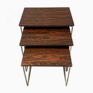 Nesting Tables, 1950s, Set of 3