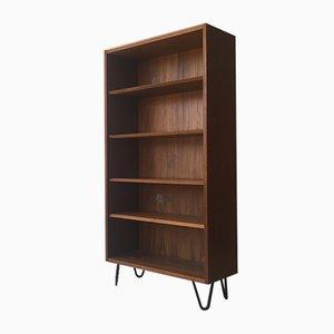 Danish Teak Bookcase with Adjustable Shelves, 1960s