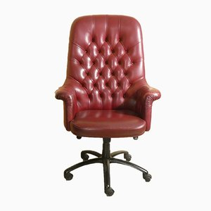 Oxford Model President Lounge Chair from Poltrona Frau, Italy, 1990s