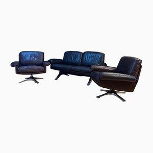 DS-31 Living Room Set from De Sede, Switzerland, 1970s, Set of 3