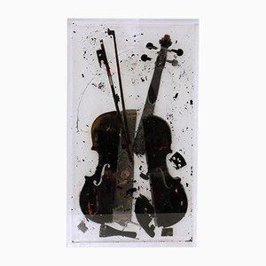 Wrath of Paganini by Arman, 2004