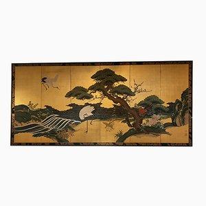 Pantalla de panel japonés