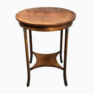 Louis XVI Veneered Rosewood & Bronze Side Table