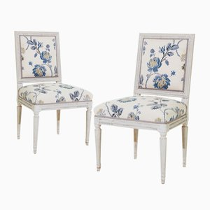 Gustavian Chairs, Set of 2