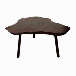 Low Freeform Wooden Table, 1960s