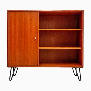 Small Teak Dresser with Open Shelf from WK Möbel, 1960s