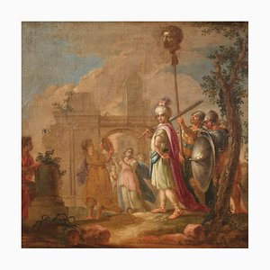 Painting of the Triumph of David, 18th Century