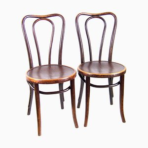 No. 48 Chairs from J&J Kohn, Set of 2