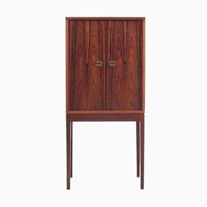 Mid-Century Scandinavian Rosewood Pipe Cabinet by Ole Wanscher
