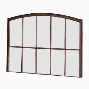Reclaimed Industrial Window Mirror