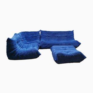 Vintage Togo Sofa Set by M. Ducaroy for Ligne Roset