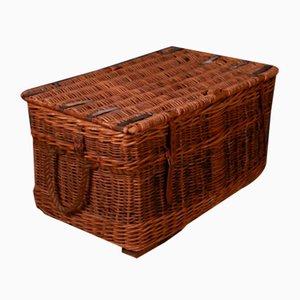 Wicker Log Basket, 1810s