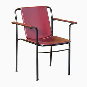 Red Movie Chair by Mario Marenco for Poltrona Frau