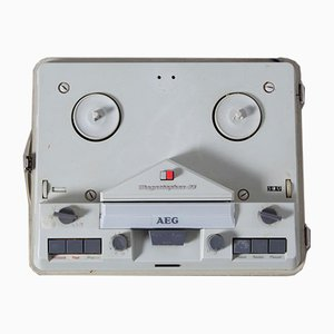Time Magnetophon 96 Reel to Reel Tape Recorder from AEG