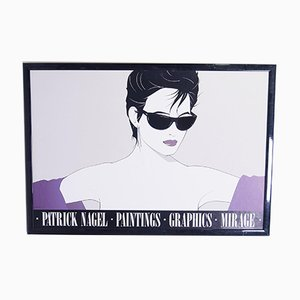 Sunglasses Poster by Patrick Nagel, 1983
