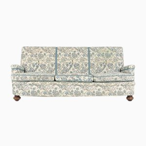 Mid-Century Sofa in Floral Fabric, 1950s, Sweden