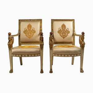 Armchairs, 1802, Set of 2