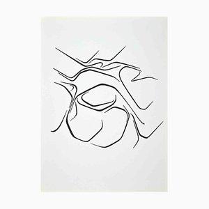 Raoul Ubac, Composition, Lithograph, 1968