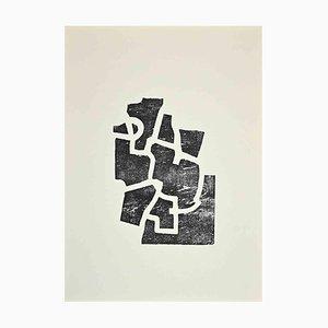 Eduardo Chillida, Composition, Original Lithograph, 1968