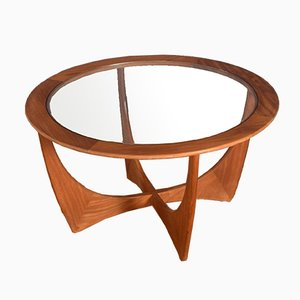 Fresco Teak & Glass Astro Coffee Table by Victor Wilkins for G-Plan
