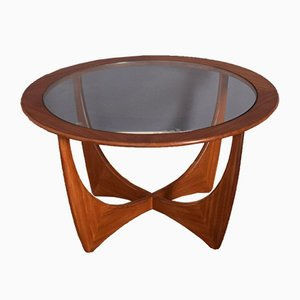 Teak & Glass Astro Coffee Table by Victor Wilkins
