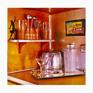 Martini Corner, Bisbee, Arizona, Vintage Interior Color Photography, 2001