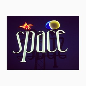 Space, Ibiza, The Balearic Islands, Contemporary Color Sign Photography, 2016