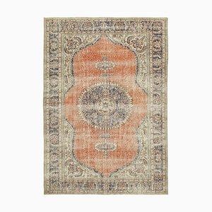 Beige Turkish Vintage Area Rug