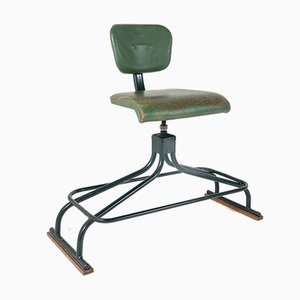 Industrial Factory Swivel Stool by Evertaut, 1950s