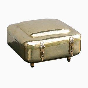 Brass Box from Vereinigte Werkstätten Munich, 1920s
