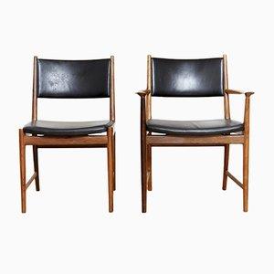 Mid-Century Chairs by Kai Lyngfeldt Larsen for Soren Willadsen, 1960s, Set of 2