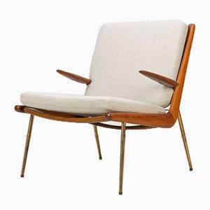 FD-134 Boomerang Chair by Peter Hvidt & Molgaard Nielsen for France and Daverkosen