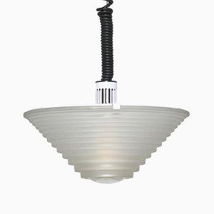 Egina 38 Pendant Lamp by Angelo Mangiarotti for Artemide, Italy, 1970s