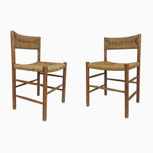 Dordogne Chairs by Charlotte Perriand for Sentou, Set of 2
