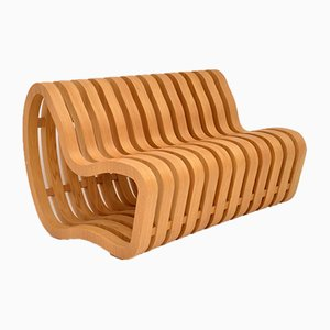 Curve Bench by Nina Moeller