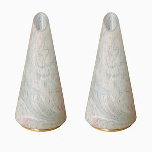 Italian Cone Murano Lamp, 1980s