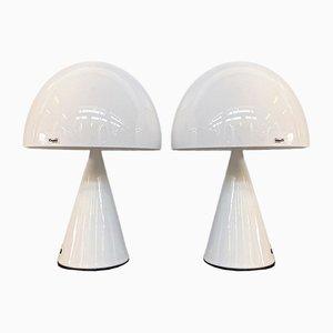Mid-Century Modern Italian 4048 Baobab Table Lamp from iGuzzini, 1960s, Set of 2
