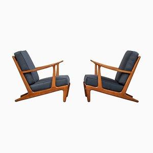 Mid-Century Modern Scandinavian Lounge Chairs, 1960s, Set of 2