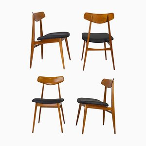 Dining Chairs from Habeo, 1960s, Set of 4