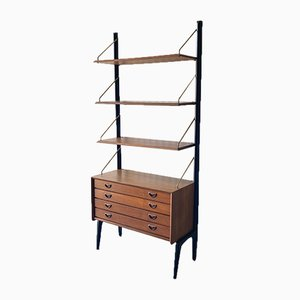Storage Unit with Drawers by Louis Van Teeffelen for WéBé, 1950s