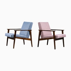 Armchair from TON, CSSR 1960s, Set of 2
