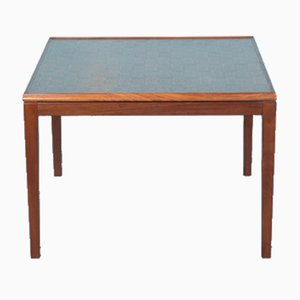 Mid-Century Danish Coffee Table with Copper Top, 1960s