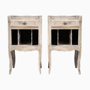 Shabby Chic Bedside Tables, Set of 2