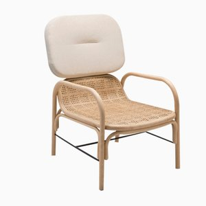 Migliore Plus Rattan Armchair by At-Once for Orchid Edition